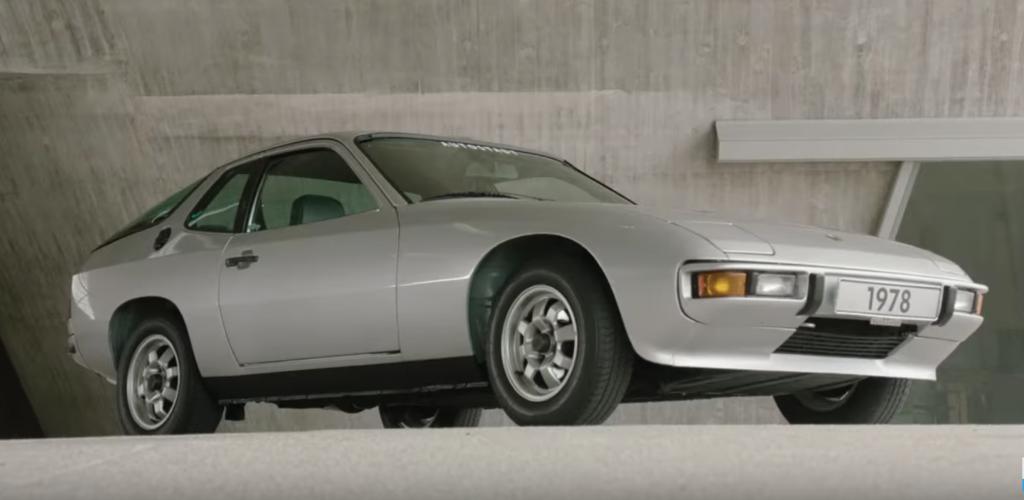Coche clasico Porsche 924