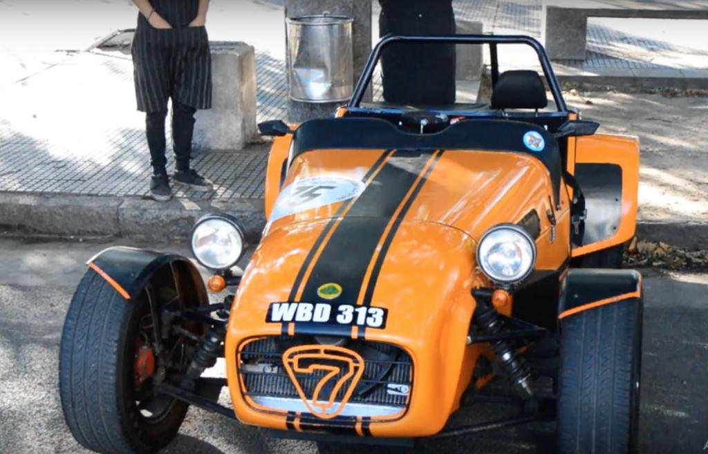 coche clasico Lotus Seven