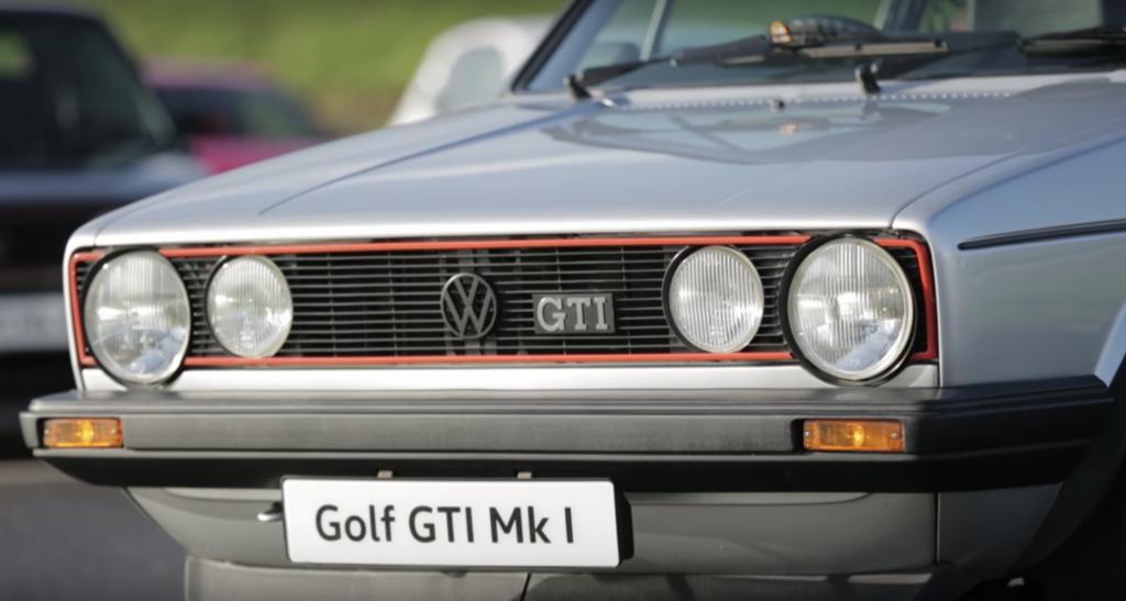 coche clasico golf mk1 gti