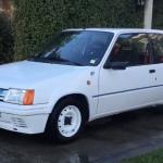 coche clasico peugeot 205 rallye