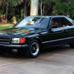 coche clasico mercedes benz 500 c