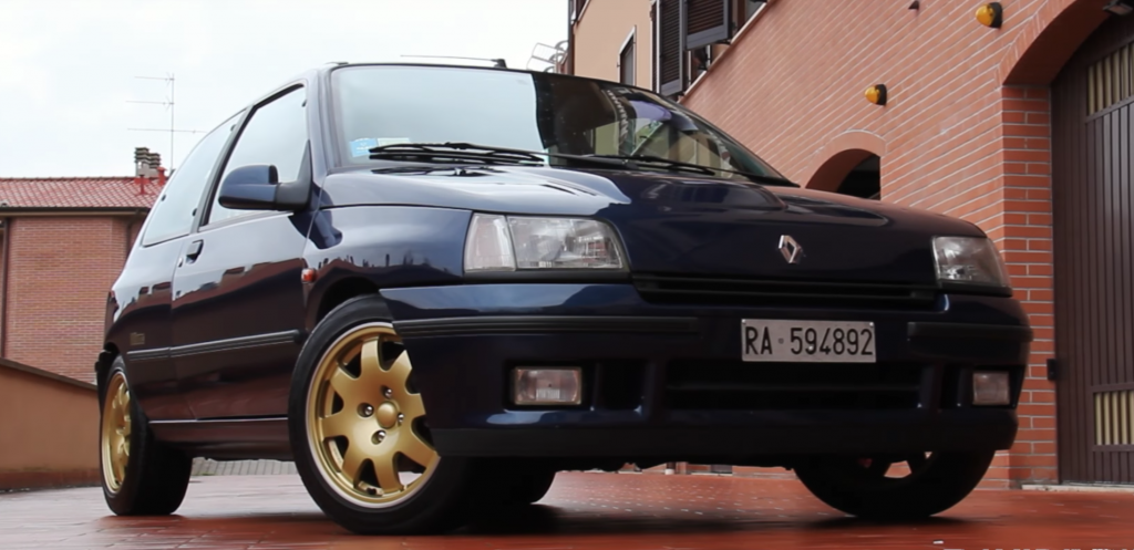 coche clasico renault clio williams