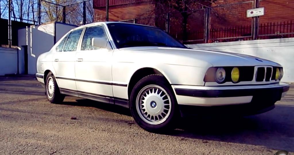 El coche clasico, BMW 520i e34