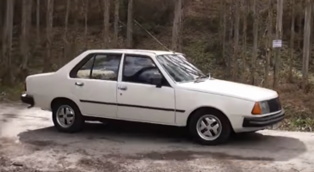 coche clasico, renault 18 gts
