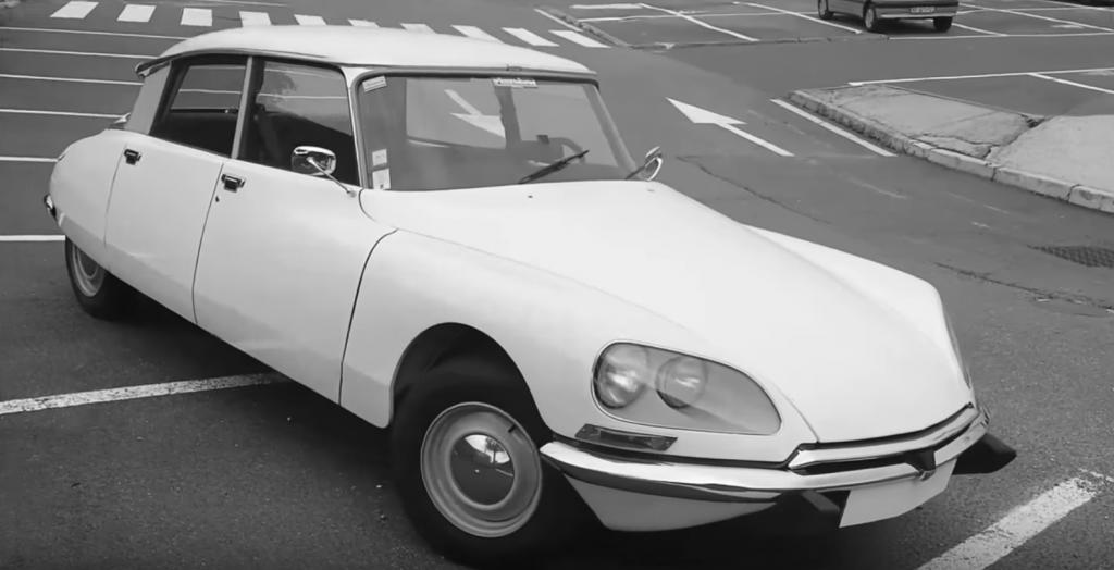 el coche clasico, citroen ds special