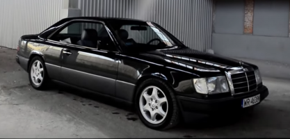 el coche clasico mercedes benz 300 ce