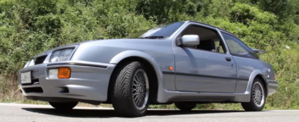 ford sierra cosworth, el coche clasico