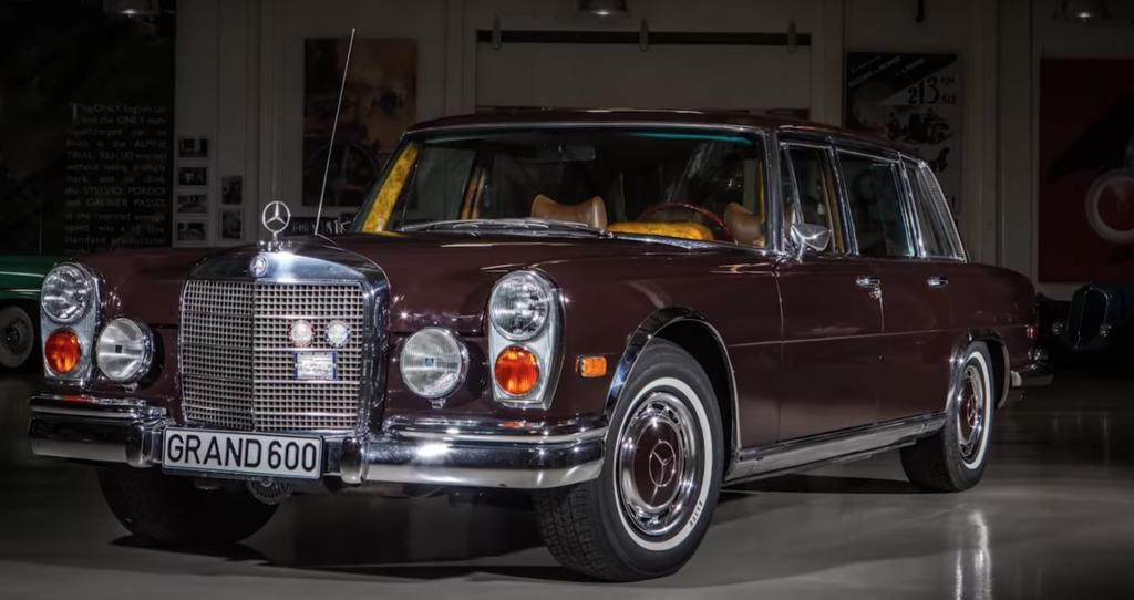 coche clasico, mercedez benz 600