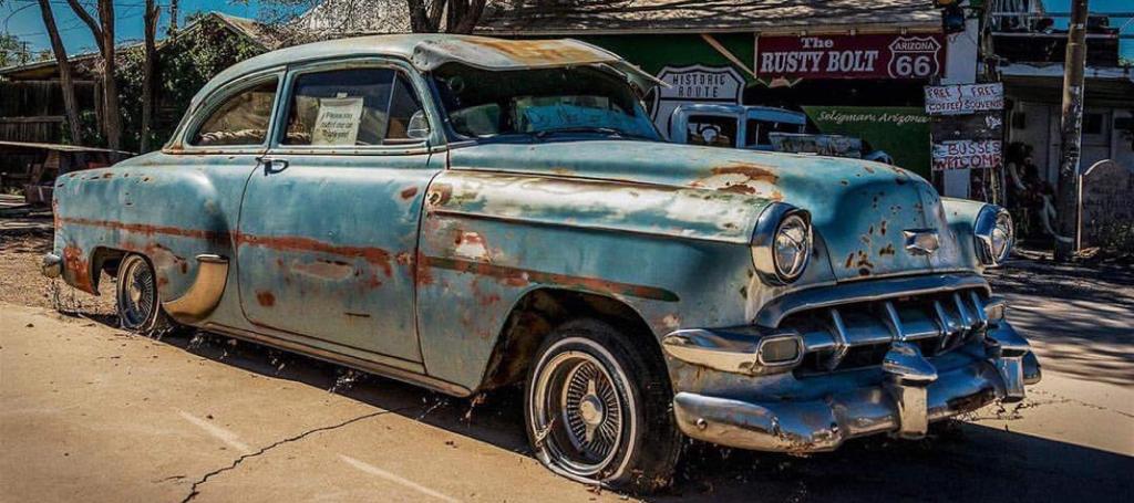 Coche viejo, el coche clasico