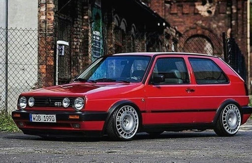 Golf mk2, el coche clasico